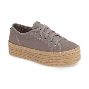 NWT Steve Madden Hampton Sneakers in Gray
